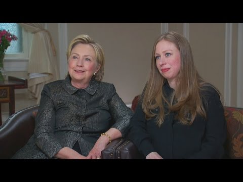 EXCLUSIVE: Chelsea Clinton Defends Mom Hillary: 'I Don't Remember a Time When She Wasn't Being At…