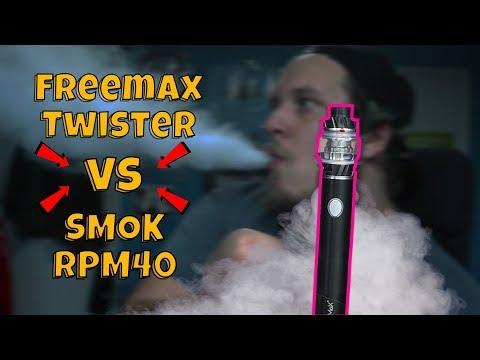 Freemax Twister 80W Kit vs SMOK RPM40 Pod Mod Kit Review