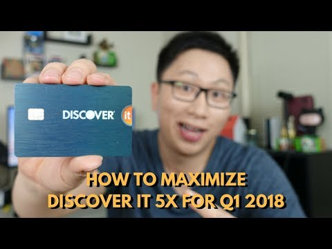How to Maximize the Discover It 5x Bonus for Q1 2018