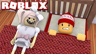La DOLL CURSED - HORROR STORY IN ROBLOX - Machinima