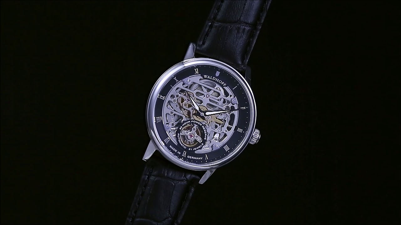 Waldhoff Capital Carbon Silver Automatic // 06C video thumbnail
