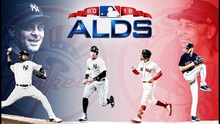 ALDS GAME 2 THE NEW YORK YANKEES vs THE BOSTON RED SOX OCTOBER 6, 2018