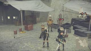 NieR: Automata - How to buy PSN Trophies in game from Secret Vendor