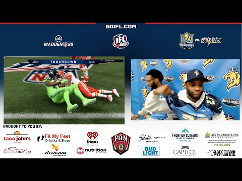 Cedar Rapids River Kings vs. Sioux Falls Storm (IN MADDEN 2020!)