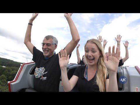 VIDEO: The AJC rides Six Flags Over Georgia's new coaster, Twisted Cyclone