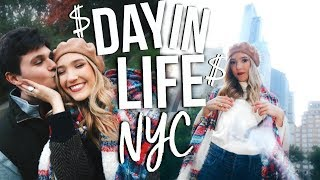 Day In My Life NYC College Student | How to Save Money in College!