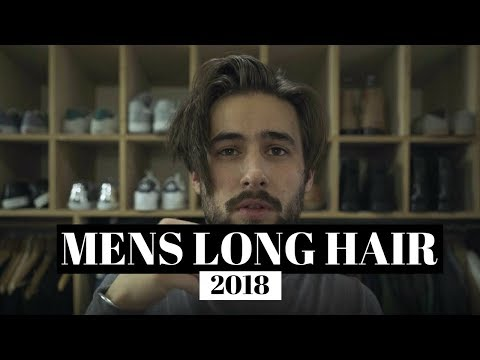 Mens Long Hair Style 2018 | Hair Growth Update | How I Style My Hair