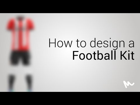 How to use the Yellow Images Football Kit Template // Tutorial