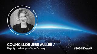 Councillor Jess Miller, Deputy Lord Mayor, Sydney