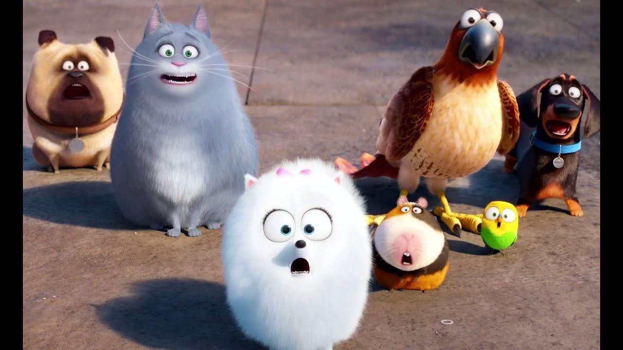 если жизнь домашних животных мультфильм небольшой мастер-класс