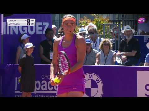 2017 Internationaux de Strasbourg Semifinals | Daria Gavrilova vs Caroline Garcia | WTA Highlights