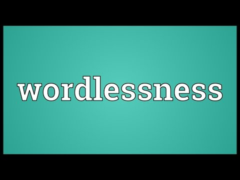 Header of wordlessness