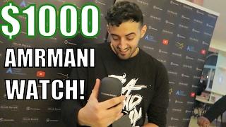 someome gave me a 1000 armani watch uk tour vlogs 3