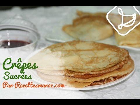 crêpes-sucrées---sweet-crepes---كريب-حلو