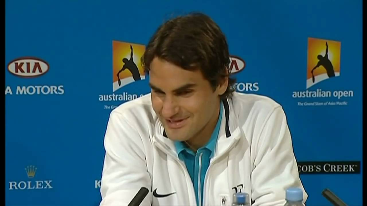 Roger Federer on Andy Murray's tearful speech