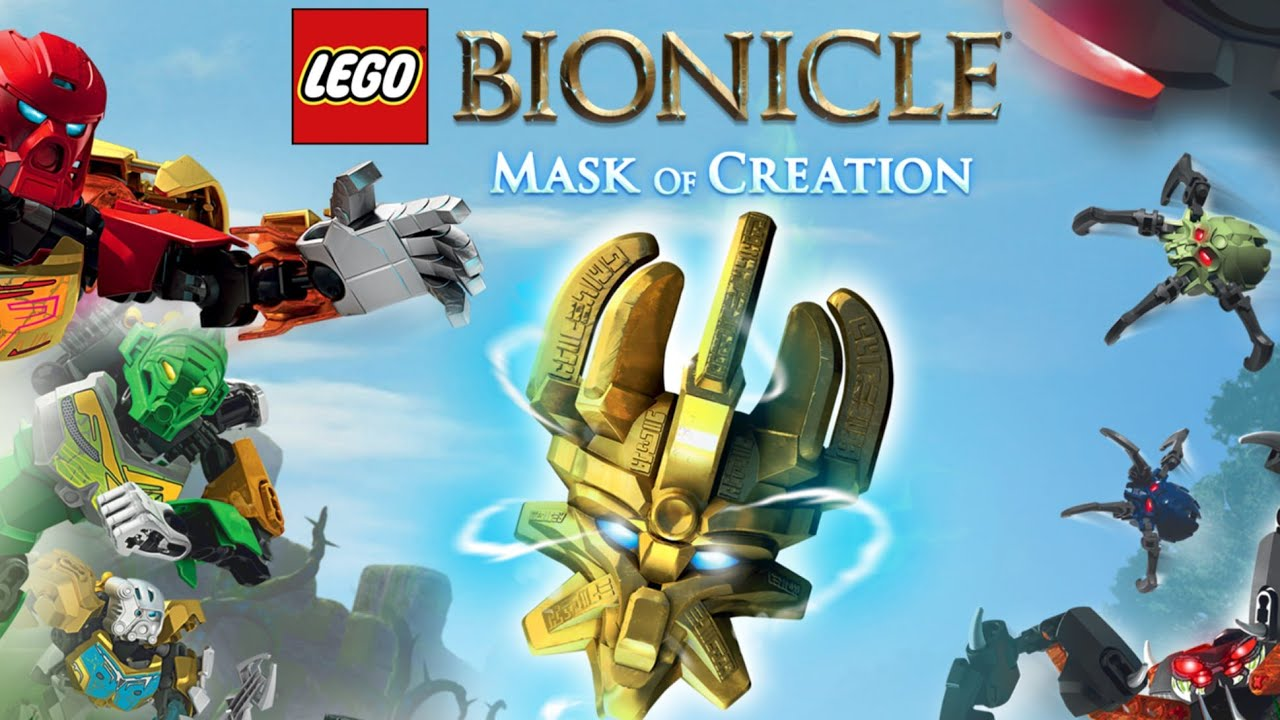 Lego Bionicle Mask Of Creation Free Game App Ipad Android
