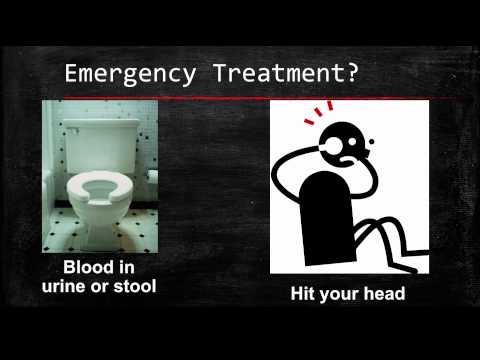 Rivaroxaban DVT Prevention Patient Education