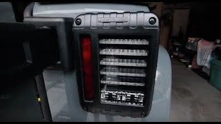 jw speaker 279 tail light review installation