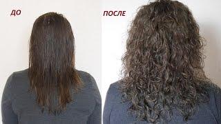 Завивка волос пошагово До и После // Irinka Pirinka