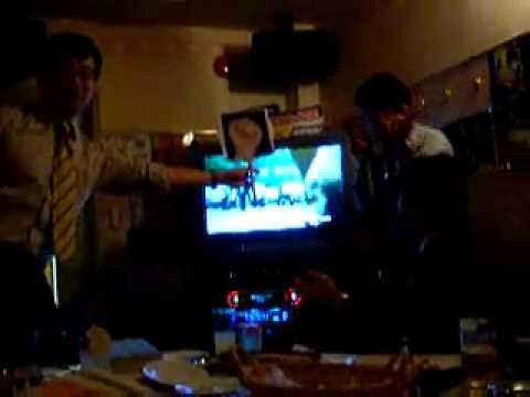 Salary-man karaoke