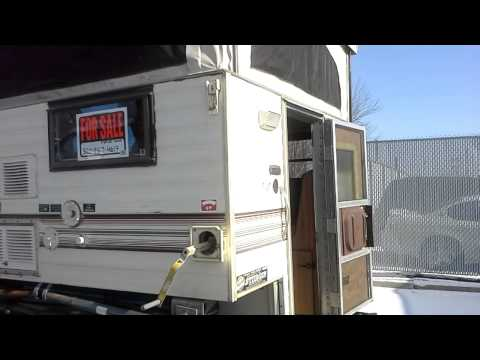 HaylettRV.com - 1994 Bronco Used Popup Truck Camper by ...