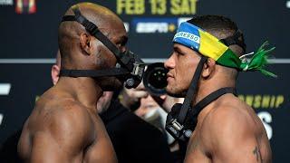 UFC 258: Weigh-in Faceoffs