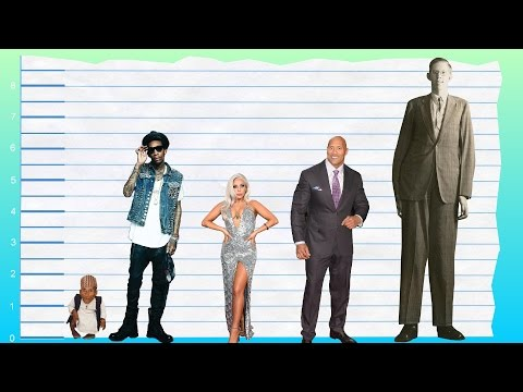 How Tall Is Wiz Khalifa? - Height Comparison!
