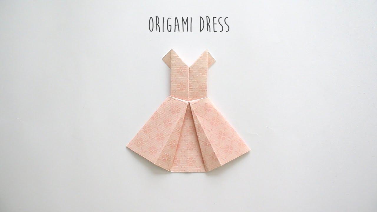 Diy origami dress youtube diy origami dress jeuxipadfo Choice Image