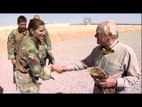 Sir David Jason in Afghanistan : Charlie Kinross HD cameraman