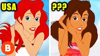 Disney Characters That Were Changed In Other Countries
