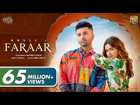 Faraar (Official Video) Akull | Avneet Kaur | Mellow D | VYR