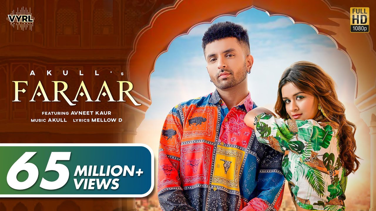 Download Faraar (Official Video) Akull | Avneet Kaur | Mellow D | VYRL Originals | New Song 2021