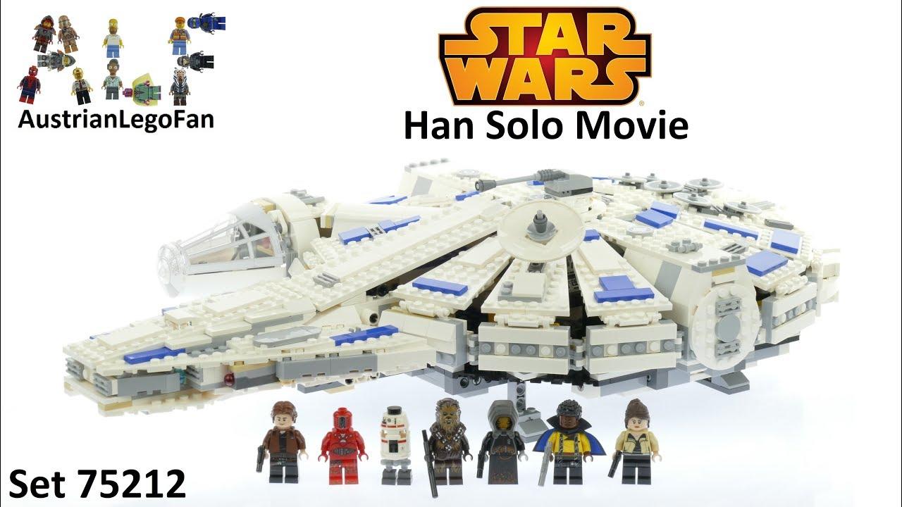Lego Star Wars 75212 Kessel Run Millennium Falcon - Lego Speed Build ...