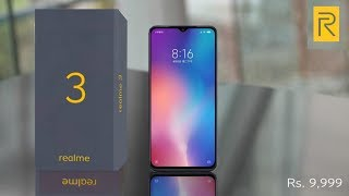 Realme 3 official - Price, Specs, features & Launch Date in India??