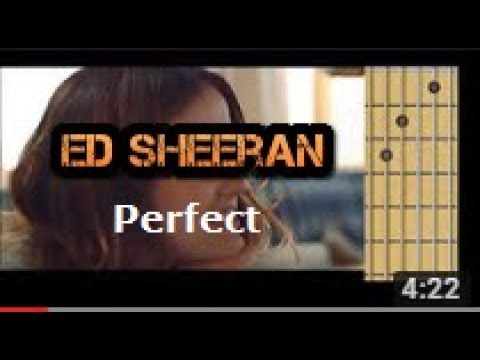 Perfect - Ed Sheeran (guitar chords)