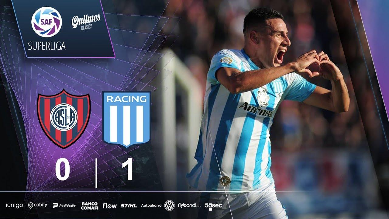 Сан-Лоренсо  0-1  Расинг Авельянеда видео