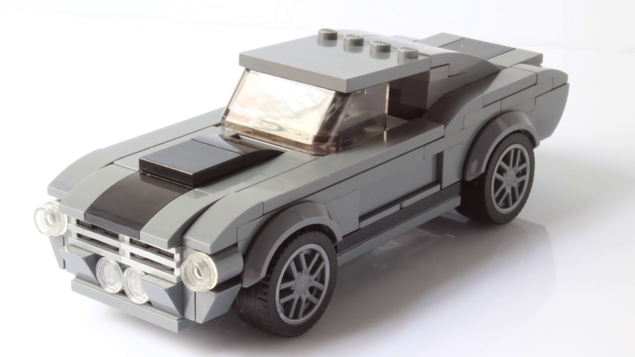 кадр из видео lego ford mustang gt500 from 1967 aka shelby gt500 eleanor from