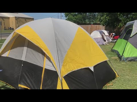 News Around The Lone Star State - Former tent city residents forced to leave private property