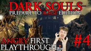 "Dark Souls 1: A Noobs First Playthrough ""RAGE at Blight Town"" Episode 4"