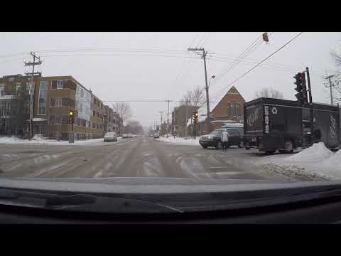 How to burn a red light legally in Montreal ! Almost never made it to work that morning...