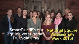 SmartPak ♥'s our equine veterinarian, Dr. Lydia Gray!