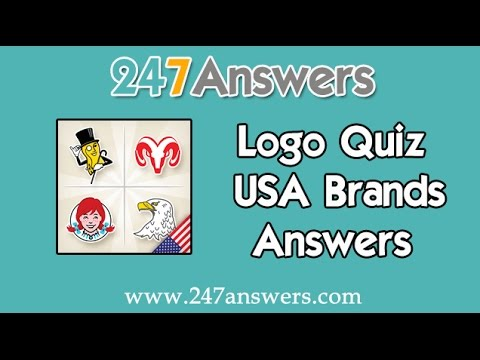 logo quiz usa brands answers 1600 levels youtube