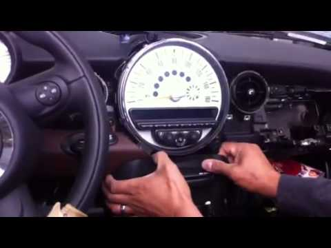 How To Remove Radio From Mini Cooper 2010 Youtube