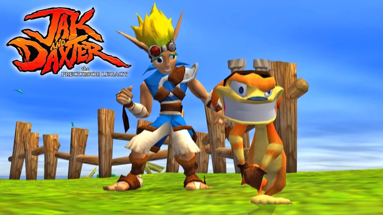 Jak and Daxter the Precursor Legacy - PS2 for PS4