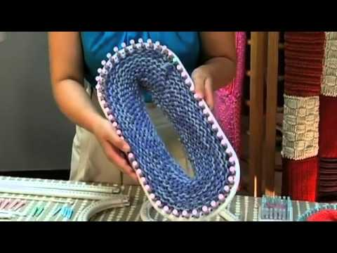 Lion Brand Martha Stewart Crafts Loom Kit Introduction Youtube