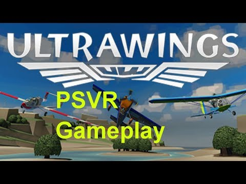 Ultrawings gameplay by Zen on PSVR PS4 PSpro @ ThisIsMeInVR