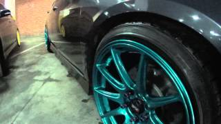 HONDA ACCORD CL9 Type-S Grey Mod(Видео с автовыставки