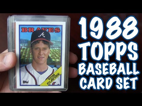1988 Topps Baseball Card Set