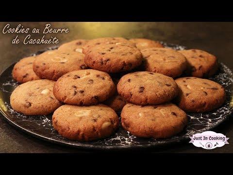 Recette des Cookies au Beurre de Cacahuète et Pépites de Chocolat