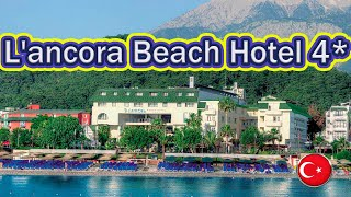 Отели Турции L ancora Beach Hotel 4 Кемер
